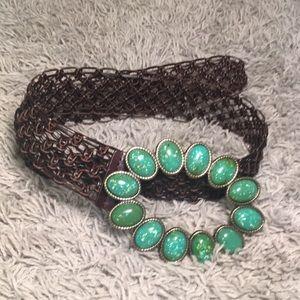 brown & green belt